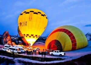 Cappadocia Hot Air Balloon - arriving at your balloon