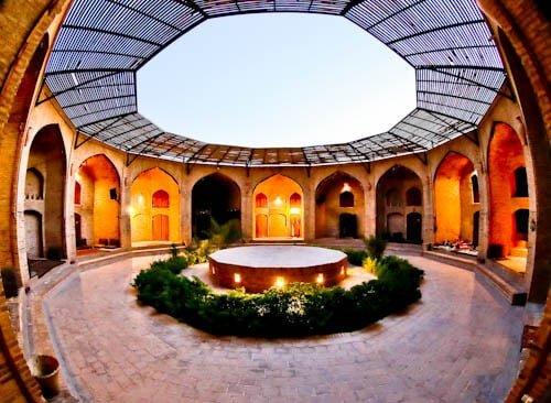 Stay in a caravanserai on the silk road - Zeinodin Caravanserai, Iran - Inner Circle