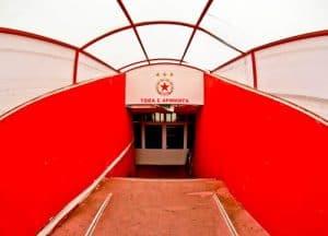 CSKA Sofia - Stadium and Museum Tour - Players Tunnel