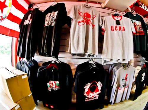 CSKA Sofia - Stadium and Museum Tour - Club Shop