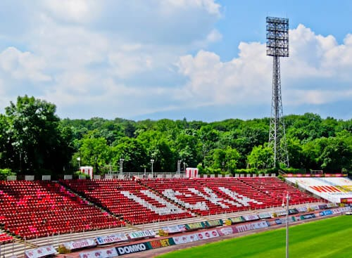 Things to do in Sofia - Bulgaria - CSKA Sofia Stadium
