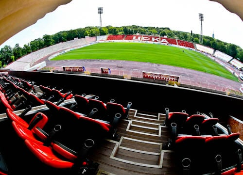CSKA Sofia - Stadium and Museum Tour - VIP seats
