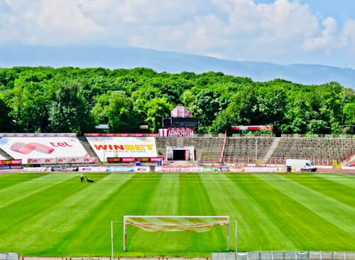CSKA Sofia - Stadium and Museum Tour - Bulgaria