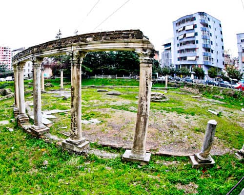 Durres - Things to do in the second largest Albania city - Forum and Roman Baths