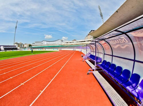 FC Etar Veliko Tarnovo Stadium Tour and Match Day Experience - Pitch Side and Dugout
