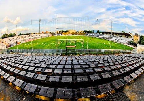 Lokomotiv Plovdiv - Stadium Tour - Lokomotiv Stadium