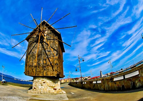 Nessebar - The Historic UNESCO Town of Bulgaria - Old Windmill