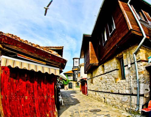Nessebar - The Historic UNESCO Town of Bulgaria - Revival Style Houses of Old Town
