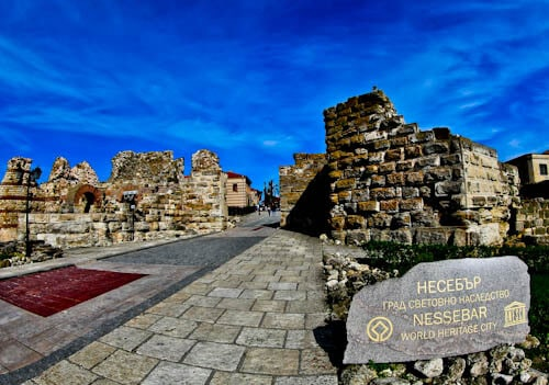 Nessebar - The Historic UNESCO Town of Bulgaria - Nessebar Fortress