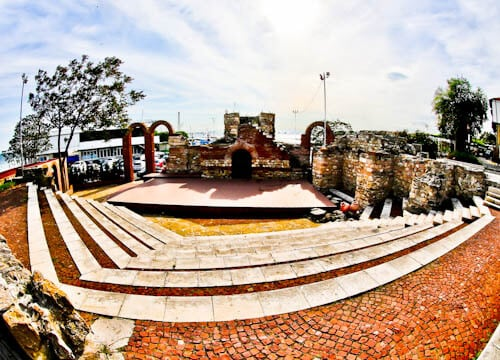 Nessebar - The Historic UNESCO Town of Bulgaria - Ancient Greek Theater