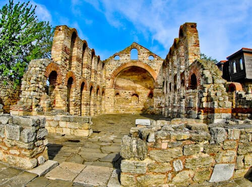 Nessebar - The Historic UNESCO Town of Bulgaria - Church of St Sophia