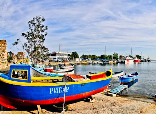 Nessebar - The Historic UNESCO Town of Bulgaria - Harbor