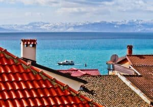 Things to do in Ohrid Macedonia - Take a boat on the UNESCO Lake Ohrid