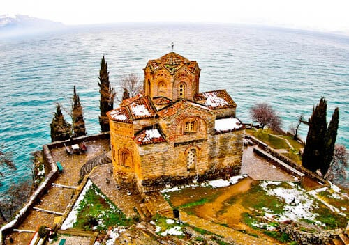 Things to do in Ohrid Macedonia - Church of St. John at Kaneo