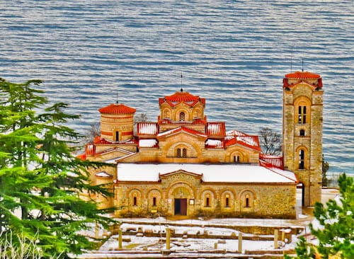 Things to do in Ohrid Macedonia - Church of Saints Clement and Panteleimon