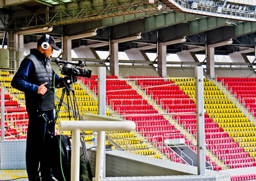 Philip II Arena - National Stadium Tour and Matchday Experience - Skopje Macedonia - TV and Media