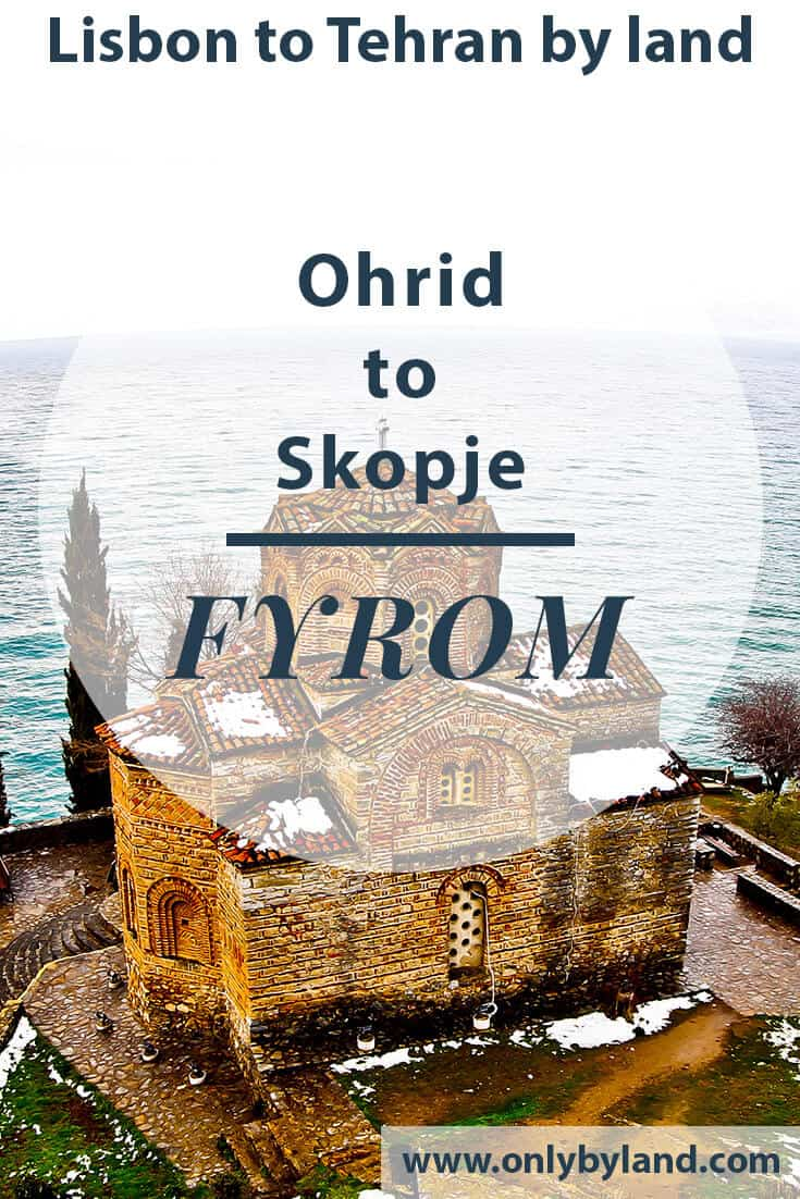 Things to do in Ohrid Macedonia + UNESCO Lake Ohrid