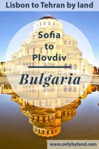 Things to do in Sofia Bulgaria + Hidden Undergrounds