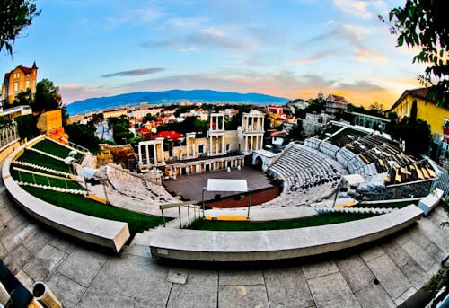 Things to do in Plovdiv Bulgaria - Ancient Roman Theater