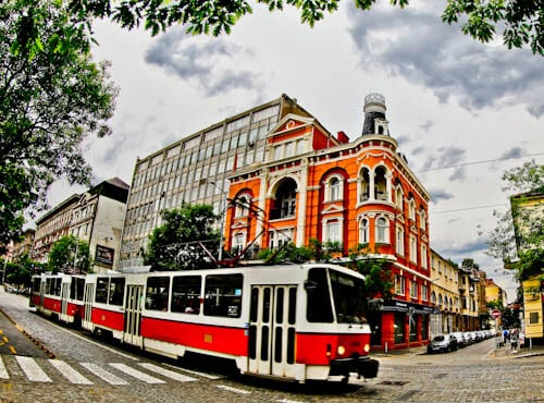 Things to do in Sofia - Bulgaria - Tram Spotting