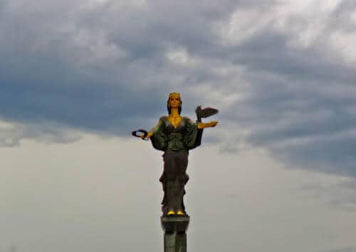 Things to do in Sofia - Bulgaria - Statue of Sveta Sofia