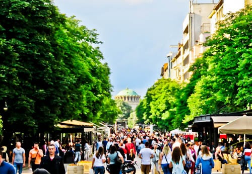 Things to do in Sofia - Bulgaria - Vitosha Boulevard