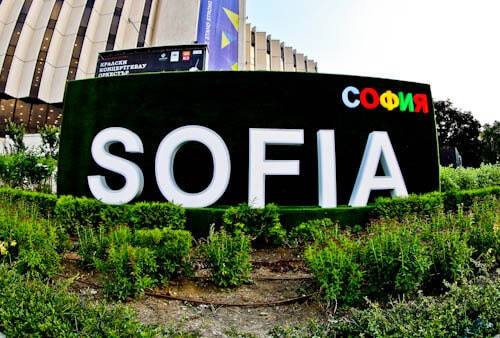 Things to do in Sofia - Bulgaria - Photo with the Sofia sign