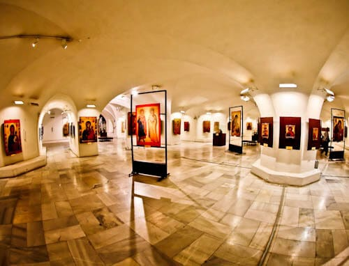 Things to do in Sofia - Bulgaria - Alexander Nevsky Cathedral Underground Crypt