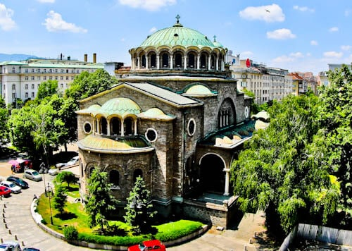 Things to do in Sofia - Bulgaria - Church of St George Rotunda