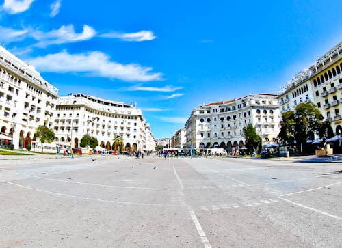 Things to do in Thessaloniki, Greece - Aristotelous Square