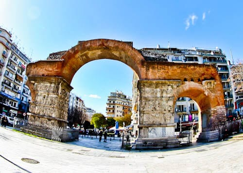 Things to do in Thessaloniki, Greece - Arch of Galerius