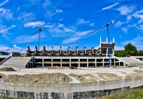 Things to do in Varna Bulgaria - Cherno More Varna Football Stadium