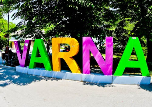Things to do in Varna Bulgaria - Varna Sign