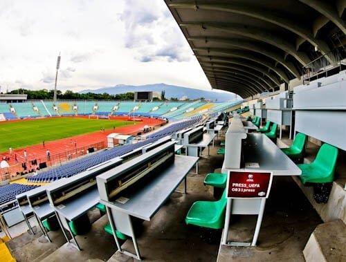 Vasil Levski Stadium - Home of the Bulgaria national football team - VIP Seats