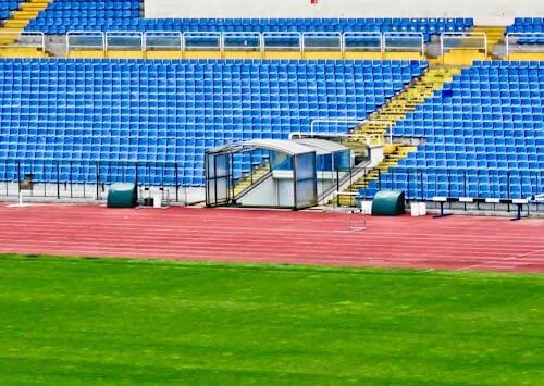Vasil Levski Stadium - Home of the Bulgaria national football team - Players Tunnel