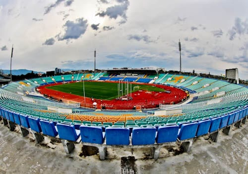 Vasil Levski Stadium - Home of the Bulgaria national football team