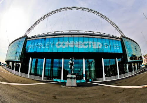 Wembley Stadium Tour - Location