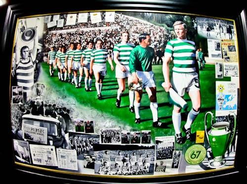 Celtic Stadium Tour - Celtic Park - Lisbon Lions Painting