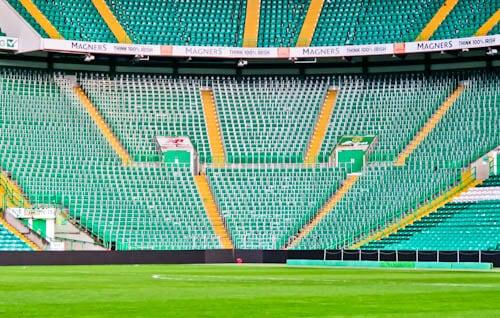 Celtic Stadium Tour - Celtic Park - Safe Standing