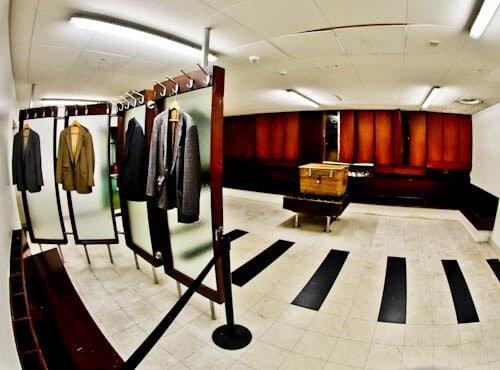 Hampden Park - Museum and Stadium Tour - Historic Dressing Rooms