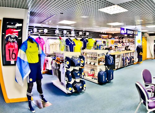 Hampden Park - Museum and Stadium Tour - Club Shop and meeting point