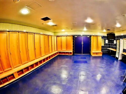 Hampden Park - Museum and Stadium Tour - Home Team Dressing Room