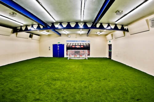 Hampden Park - Museum and Stadium Tour - Ball kick speed test