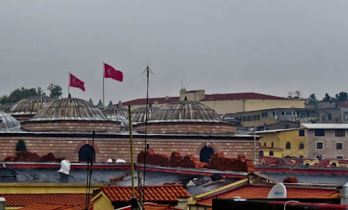 Things to do in Istanbul - rooftops of the Grand Bazaar