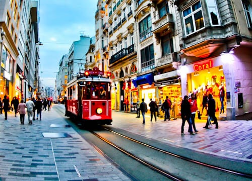 Things to do in Istanbul - Istiklal Avenue