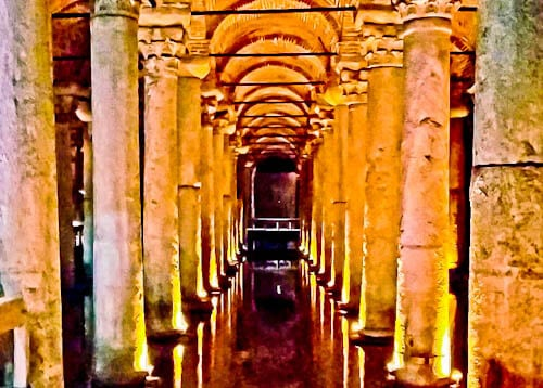 Things to do in Istanbul - Basilica Cistern - Underground