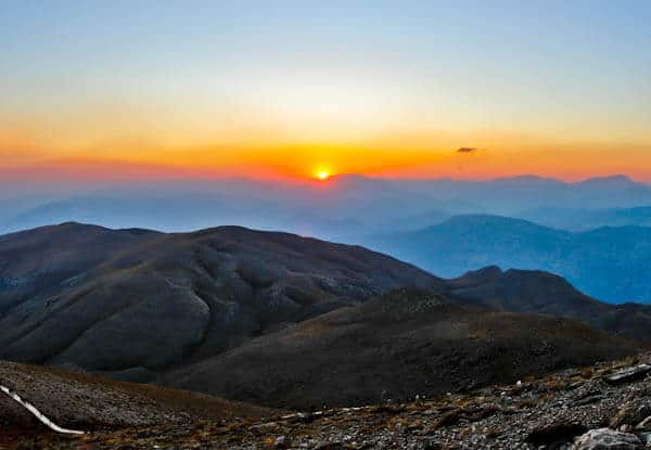Mount Nemrut sunset