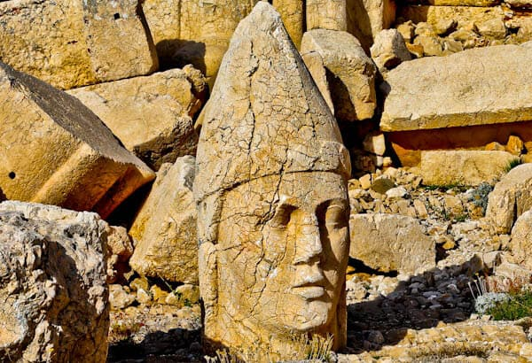 Mount Nemrut Turkey - Apollo Statue