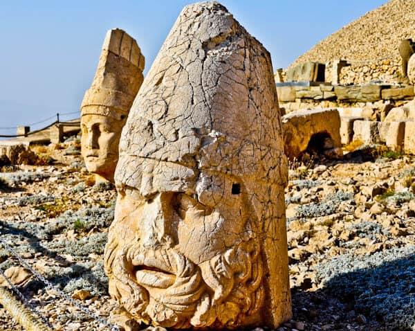 Mount Nemrut Statues - Zeus