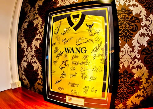 Classic Oxford United Shirt - 1986 - Trophy Cabinet and Memorabilia